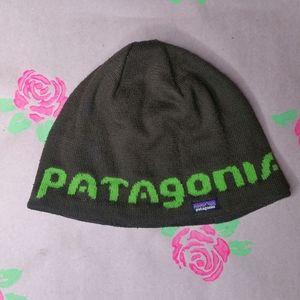 Patagonia  Green Beanie Hat